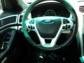 Charcoal Black Steering Wheel Photo for 2011 Ford Explorer #81112643