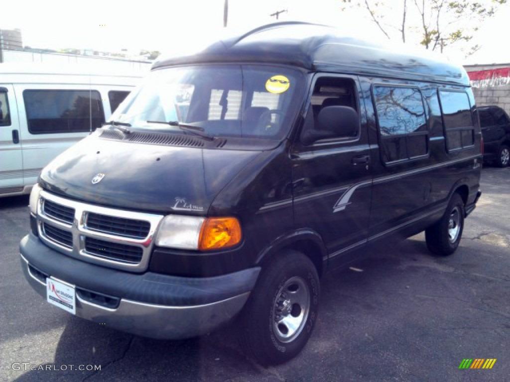 2001 black dodge ram van 1500 passenger conversion 81075994 car color galleries. Black Bedroom Furniture Sets. Home Design Ideas