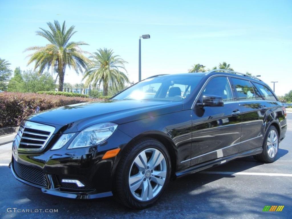 Black 2011 mercedes benz e 350 4matic wagon exterior photo for Mercedes benz e350 black