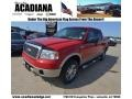 Bright Red 2008 Ford F150 Gallery