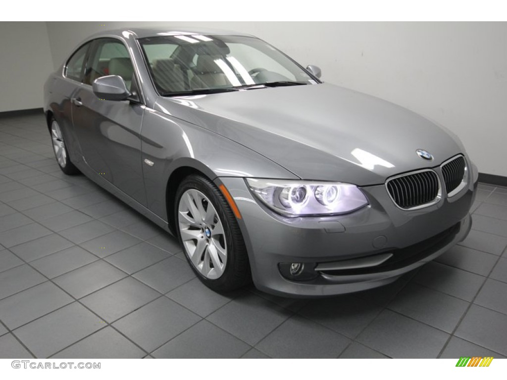 space grey metallic 2012 bmw 3 series 328i coupe exterior. Black Bedroom Furniture Sets. Home Design Ideas