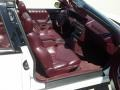 1994 Cutlass Supreme Convertible Burgundy Interior
