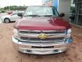 2013 Deep Ruby Metallic Chevrolet Silverado 1500 Work Truck Regular Cab 4x4  photo #15