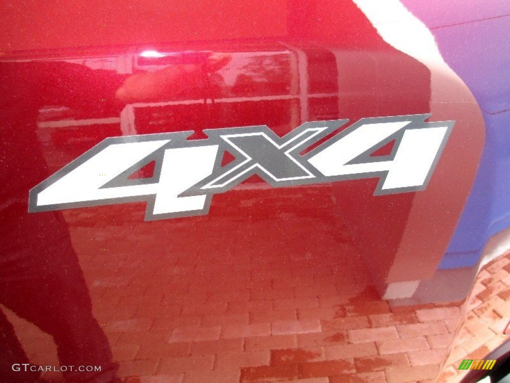 2013 Silverado 1500 Work Truck Regular Cab 4x4 - Deep Ruby Metallic / Dark Titanium photo #21