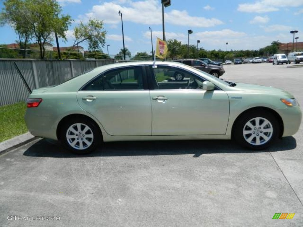 jasper green pearl 2007 toyota camry hybrid exterior photo 81129462. Black Bedroom Furniture Sets. Home Design Ideas