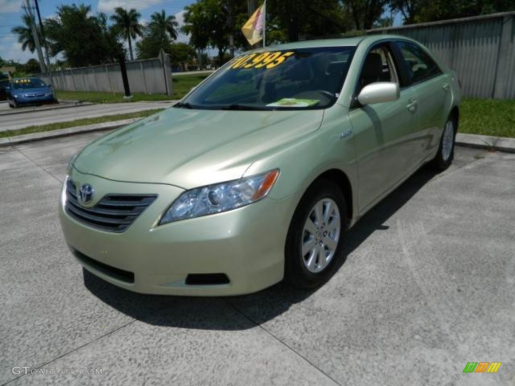 jasper green pearl 2007 toyota camry hybrid exterior photo 81129570. Black Bedroom Furniture Sets. Home Design Ideas
