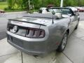 Sterling Gray Metallic 2013 Ford Mustang V6 Premium Convertible Exterior