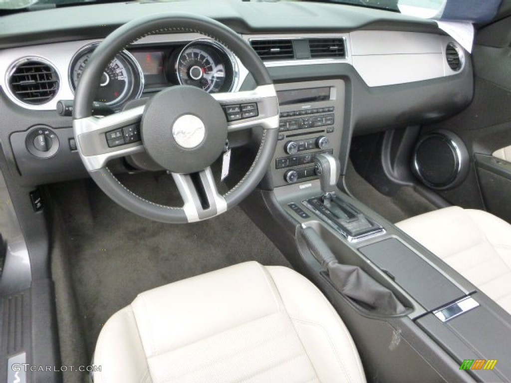 2013 Ford Mustang V6 Premium Convertible Interior Color