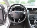 Charcoal Black Steering Wheel Photo for 2013 Ford Fusion #81133827