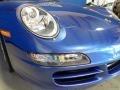 2006 Cobalt Blue Metallic Porsche 911 Carrera S Cabriolet  photo #5