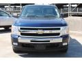 2011 Imperial Blue Metallic Chevrolet Silverado 1500 LT Crew Cab  photo #2