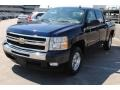 2011 Imperial Blue Metallic Chevrolet Silverado 1500 LT Crew Cab  photo #3