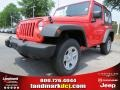Rock Lobster Red 2013 Jeep Wrangler Sport 4x4