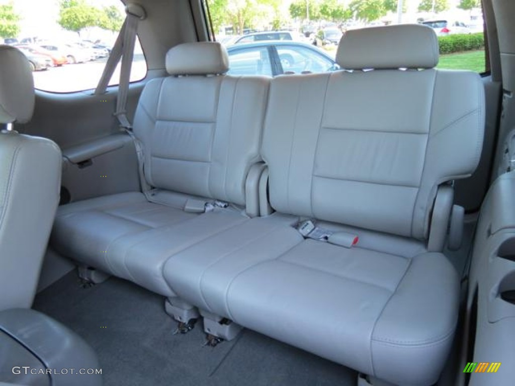 2007 Toyota Sequoia Limited Rear Seat Photo 81153729