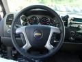 Ebony Steering Wheel Photo for 2013 Chevrolet Silverado 1500 #81167349