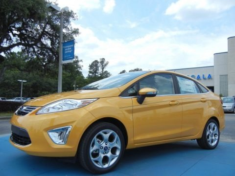 2013 Ford Fiesta Titanium Sedan Data, Info and Specs