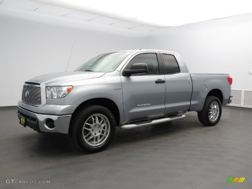 2011 Tundra Texas Edition Double Cab - Silver Sky Metallic / Black photo #1