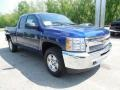 2013 Blue Topaz Metallic Chevrolet Silverado 1500 LT Extended Cab 4x4  photo #10