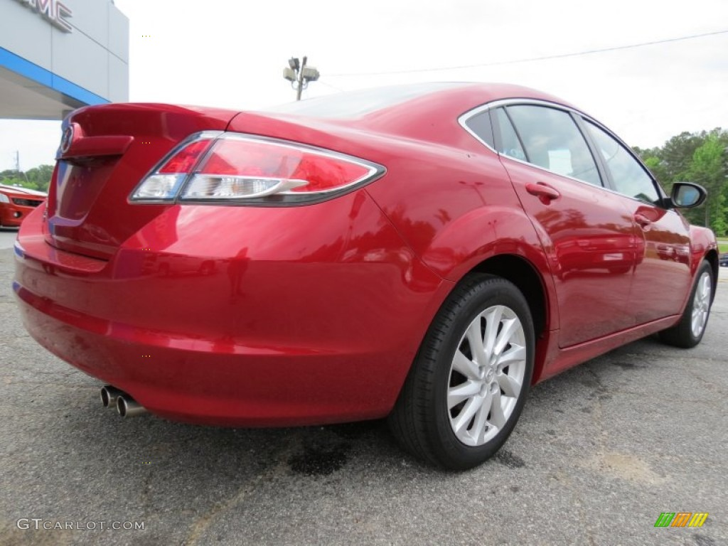 fireglow red 2012 mazda mazda6 i touring sedan exterior photo 81193302. Black Bedroom Furniture Sets. Home Design Ideas