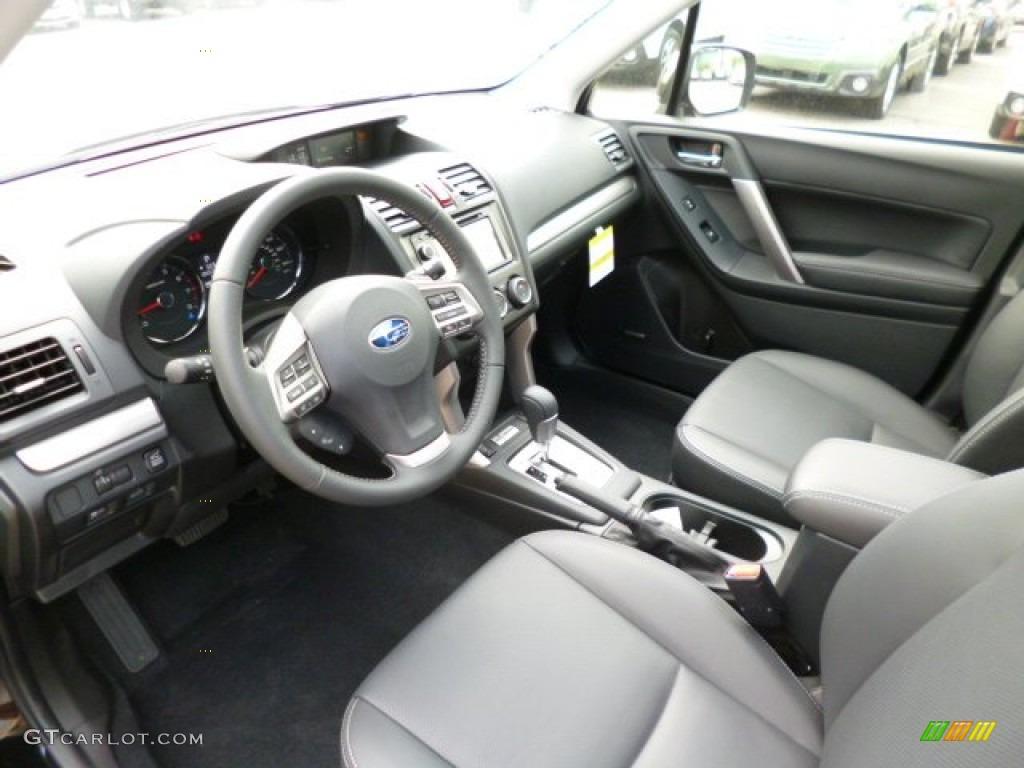 Black Interior 2014 Subaru Forester 2 0xt Touring Photo 81204548