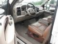 2006 Ford F250 Super Duty Castano Brown Leather Interior Interior Photo