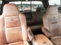 2006 Ford F250 Super Duty Castano Brown Leather Interior Front Seat Photo