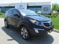 Black Cherry 2013 Kia Sportage EX AWD