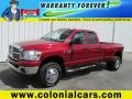 Flame Red 2008 Dodge Ram 3500 Gallery
