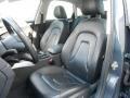 Black 2009 Audi A4 Interiors