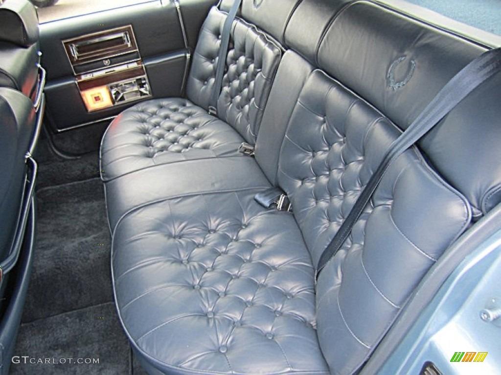 1988 Cadillac Brougham D Elegance Rear Seat Photo