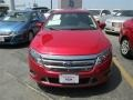 2011 Red Candy Metallic Ford Fusion Sport AWD  photo #4