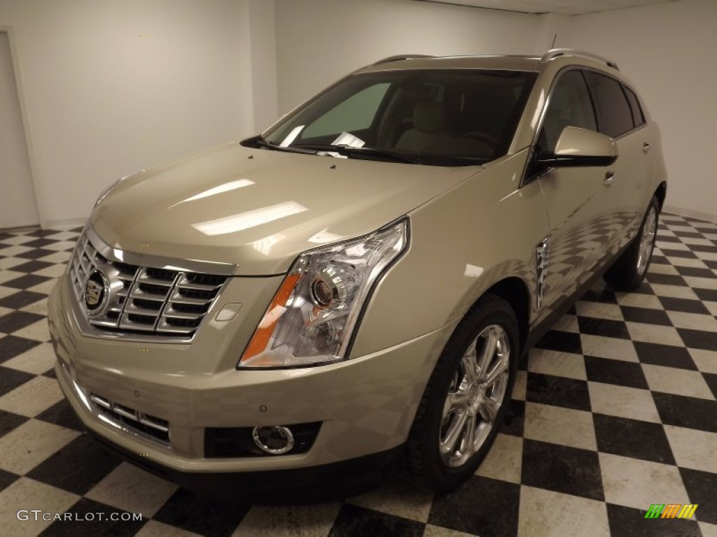2013 Silver Coast Metallic Cadillac SRX Performance FWD ...