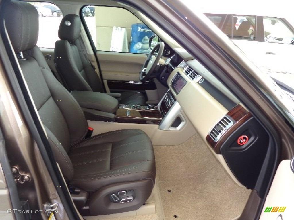 espresso ivory interior 2013 land rover range rover hse lr v8 photo 81234091. Black Bedroom Furniture Sets. Home Design Ideas