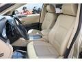 2007 Subaru B9 Tribeca Desert Beige Interior Front Seat Photo