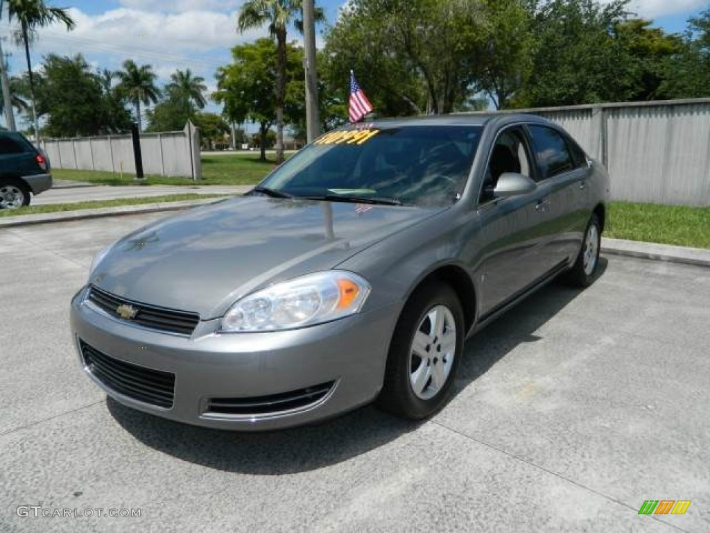 Dark Silver Metallic 2007 Chevrolet Impala Ls Exterior Photo 81241885