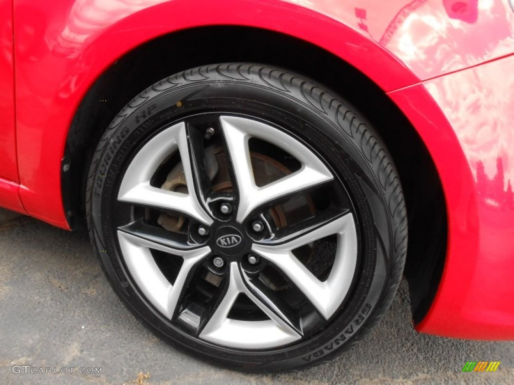 2010 Kia Forte Koup SX Wheel Photos | GTCarLot.com