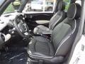 Lounge Carbon Black Leather Interior Photo for 2009 Mini Cooper #81253768