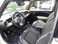 Lounge Carbon Black Leather Prime Interior Photo for 2009 Mini Cooper #81253789