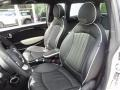 Lounge Carbon Black Leather Front Seat Photo for 2009 Mini Cooper #81253807