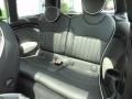 Lounge Carbon Black Leather Rear Seat Photo for 2009 Mini Cooper #81253825