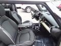 Lounge Carbon Black Leather Front Seat Photo for 2009 Mini Cooper #81253930