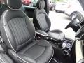 Lounge Carbon Black Leather Front Seat Photo for 2009 Mini Cooper #81253967