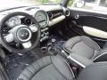 Lounge Carbon Black Leather Prime Interior Photo for 2009 Mini Cooper #81254041