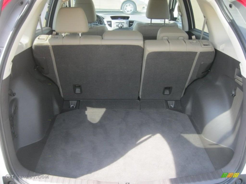 2012 Honda CR-V EX-L 4WD Trunk Photos