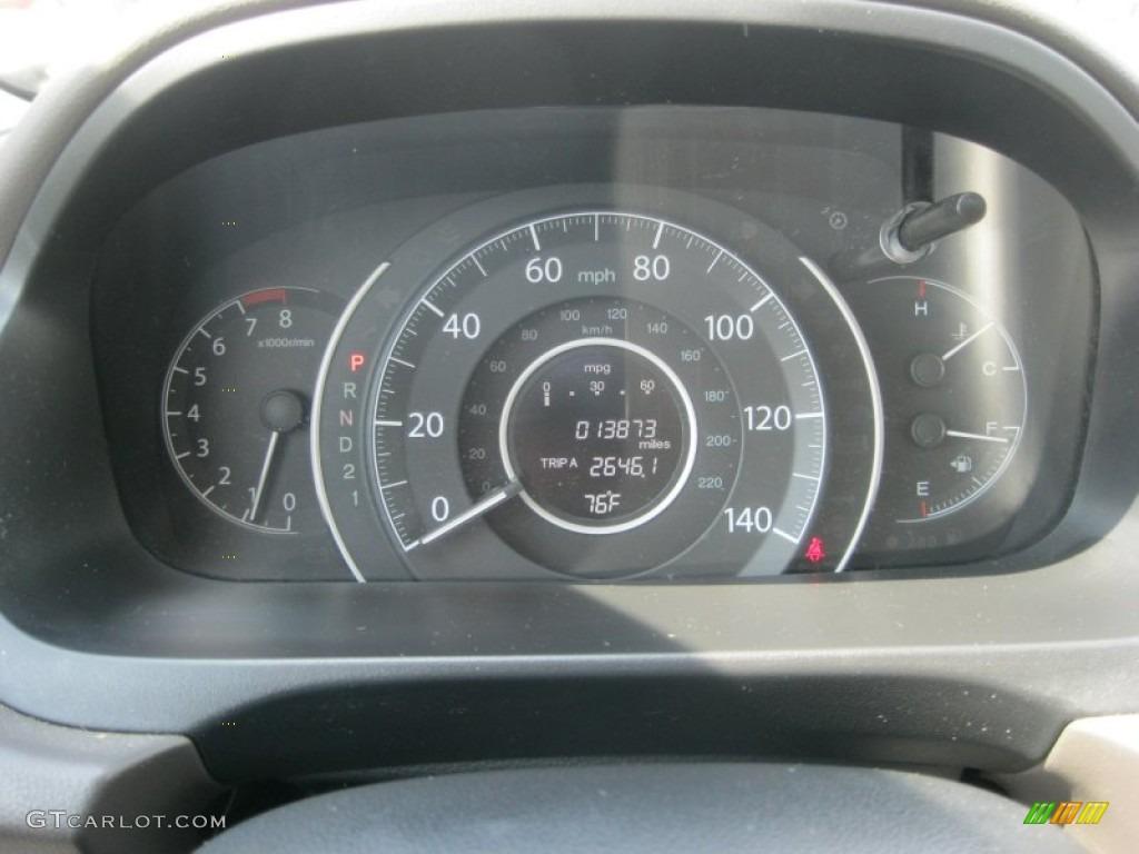 2012 Honda CR-V EX-L 4WD Gauges Photo #81261092