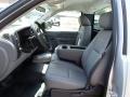 2013 Silver Ice Metallic Chevrolet Silverado 1500 Work Truck Regular Cab  photo #11