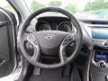 Black Steering Wheel Photo for 2013 Hyundai Elantra #81267694
