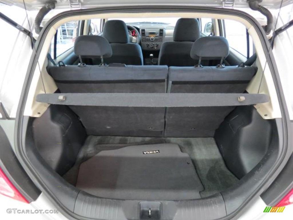 2008 nissan versa 1 8 s hatchback trunk photos. Black Bedroom Furniture Sets. Home Design Ideas