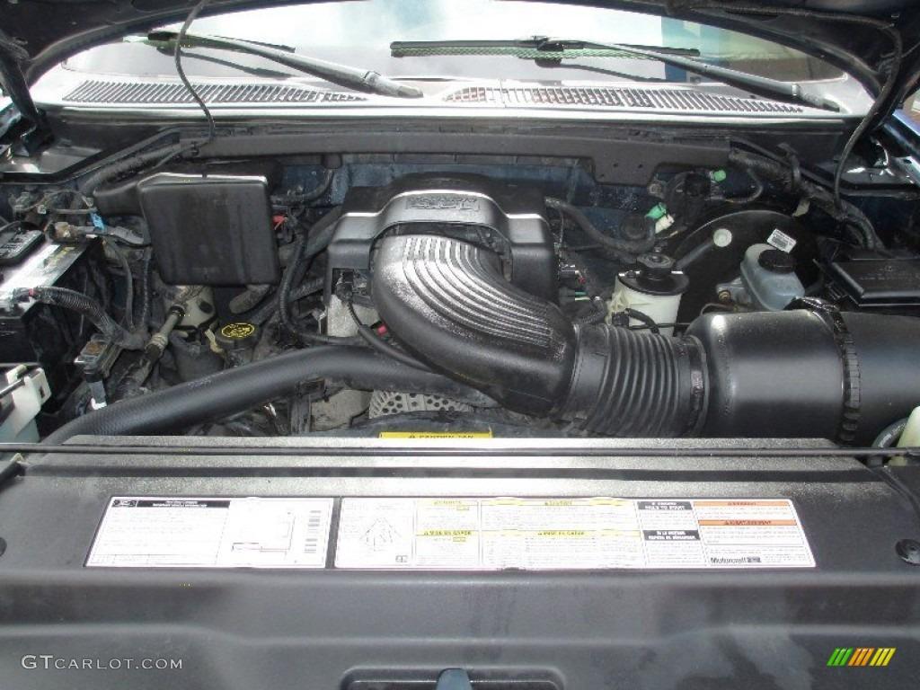 1997 ford f150 xlt extended cab 4x4 4 6 liter sohc 16 for Motor ford f150 v8
