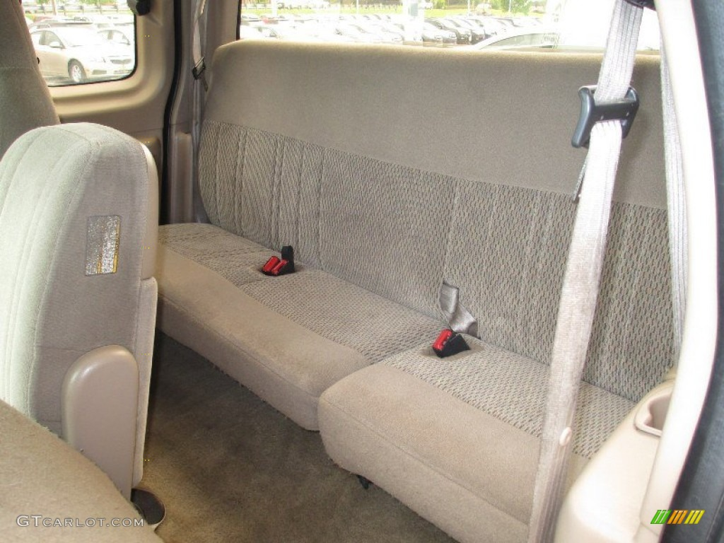 1997 ford f150 xlt extended cab 4x4 rear seat photo. Black Bedroom Furniture Sets. Home Design Ideas